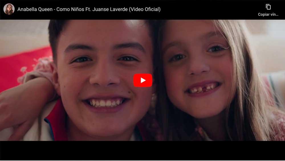 noticiaalminuto.com ¡COMO NIÑOS! Anabella Queen tiene nuevo tema junto con Juanse Laverde +video