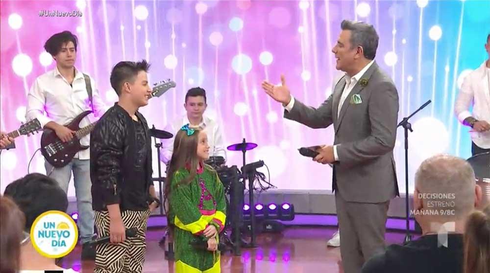 Telemundo.com / Anabella Queen y Juanse quieren que seamos 'Como Niños' +VIDEO